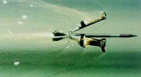 Подкалиберный противотанковый снаряд с отделяющимся поддоном — всего лишь стрела, но тяжёлая и очень быстрая (иллюстрация с сайта cseserv.engr.scu.edu).